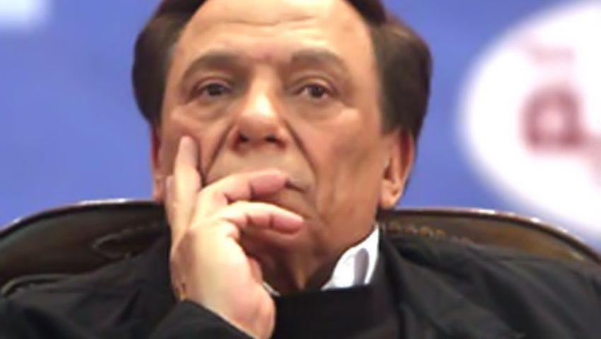 عادل إمام: الرئيس حزين
