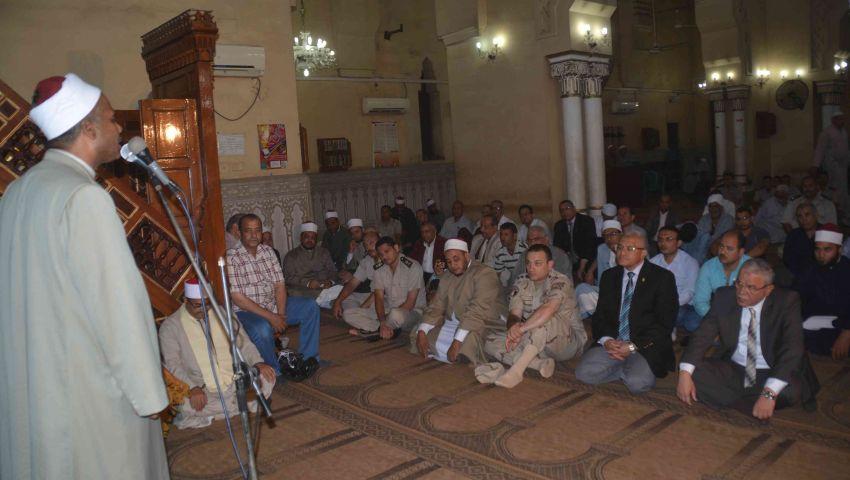 بالصور| محافظ المنيا يشهد احتفال الأوقاف بالعام الهجري الجديد