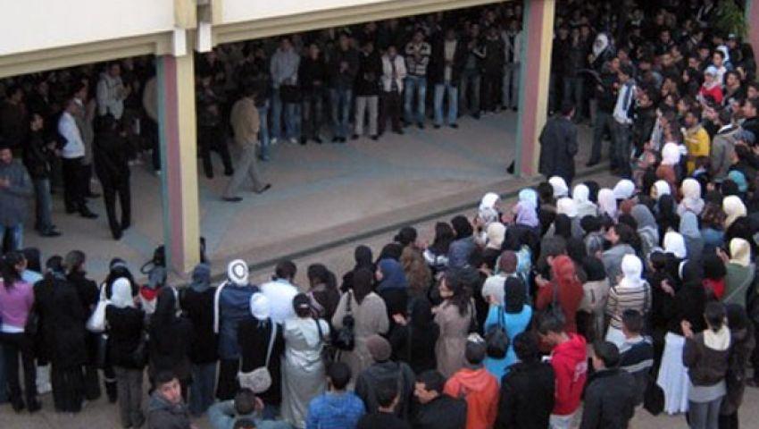 الأمن يعتدي على طلاب جامعة طنطا ويعتقل اثنين