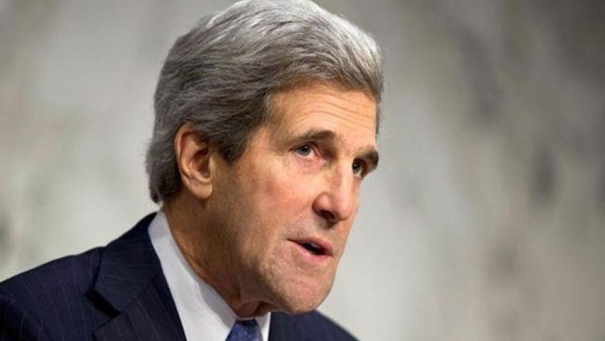 كيري: أمريكا لم تحدد بعد موقفها من عزل مرسي