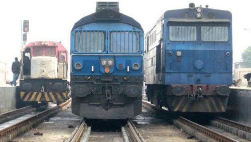 توقف حركة القطارات لليوم السادس على التوالي