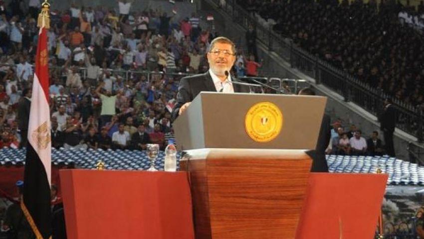 العدل والتنمية: مرسى ينفذ الأجندة الدولية ضد سوريا