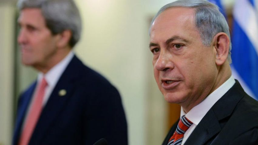 نتنياهو يعرب عن استياءه لاستثناء إسرائيل من زيارة كيري للشرق الأوسط