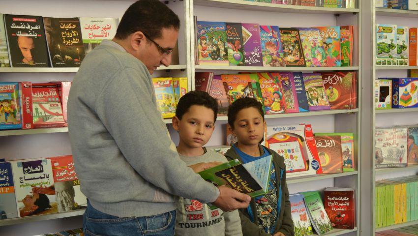 في معرض الكتاب.. ألعاب لتنمية قدرات الأطفال
