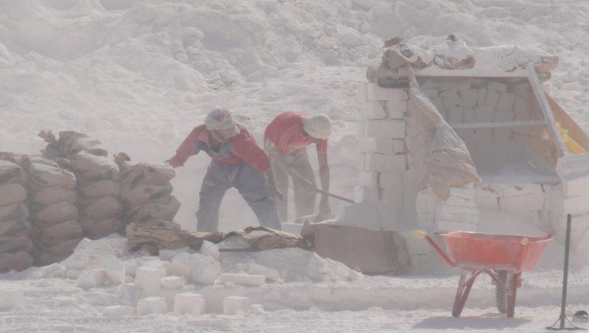 أطفال المحاجر بالمنيا.. الموت في حضن الجبل