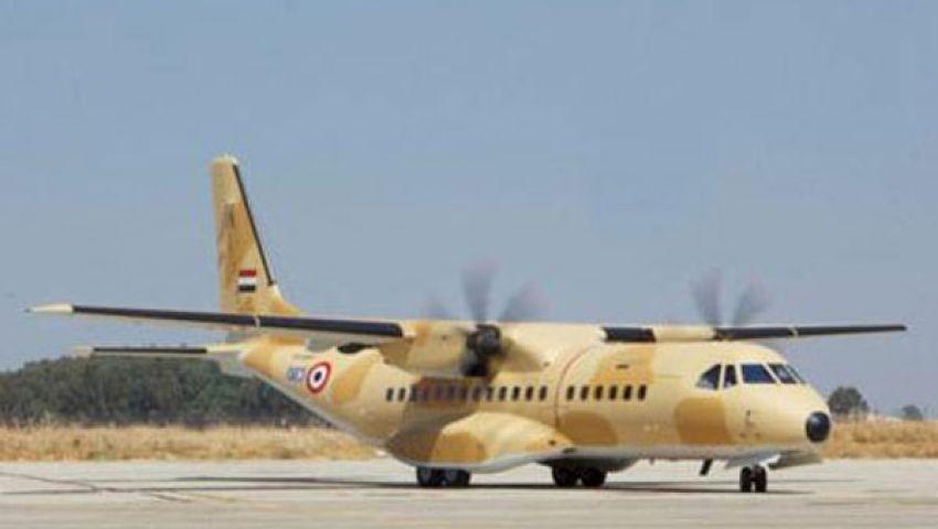 طائرات عسكرية تحلق في سماء الإسكندرية