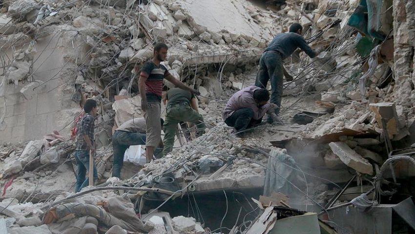 الشبكة السورية: روسيا قتلت 3264 مدنيًا خلال سنة من تدخلها بسوريا