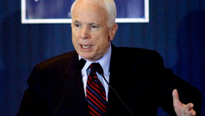 ماكين يدعو لتعليق المساعدات العسكرية لمصر