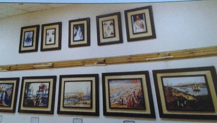 بالصور.. معرض قناة السويس يحكي تاريخها