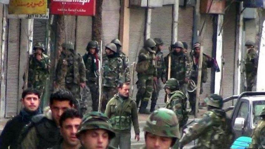 ضابط بجيش النظام السوري موبخا عناصره: بتخجِّلوا