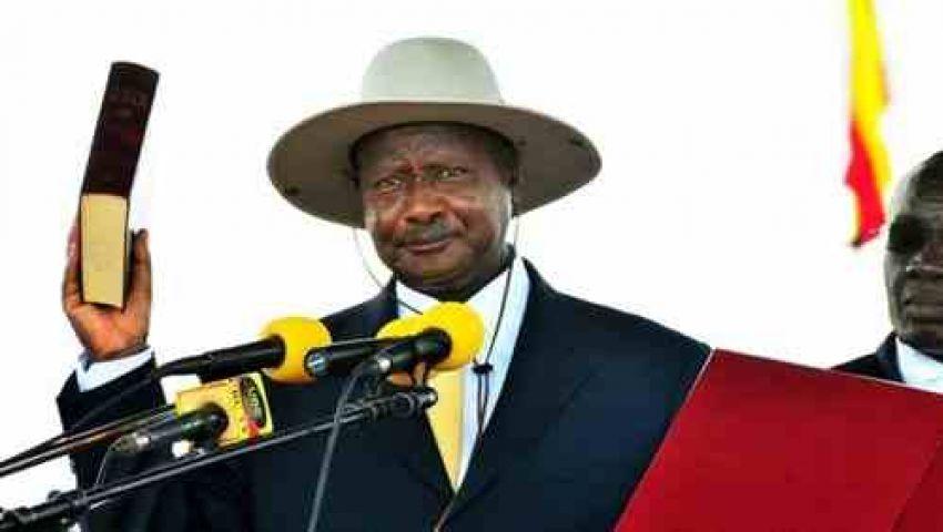 وزير دولة يمثل أوغندا في حفل تنصيب السيسي