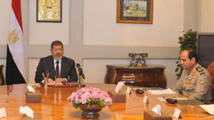 أيمن علي: لقاء مرسي والسيسي لم يشهد خلافات