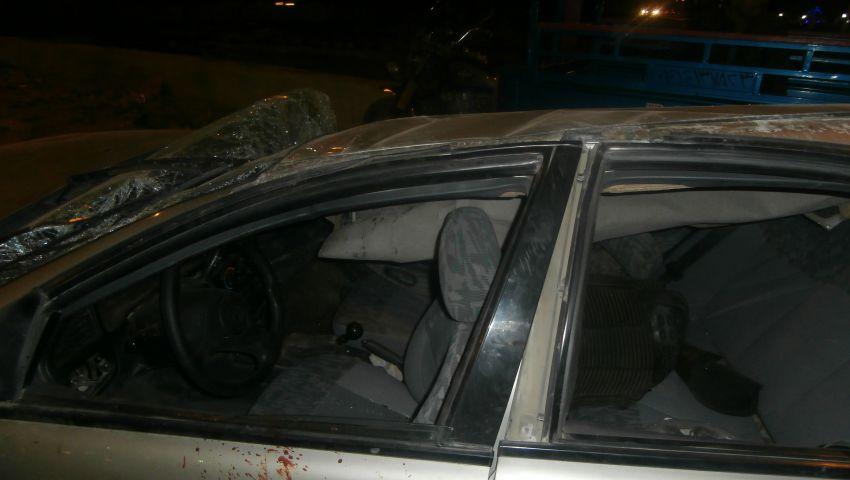 مصرع 4 وإصابة لواء شرطة وأمين ومجندين في حادث بأسيوط