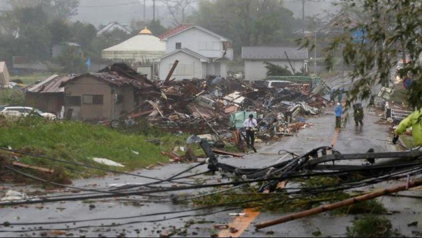 الأقوى منذ 60 عاماً.. إعصار «هاغيبيس»يشل طوكيو ويسبب فيضانات