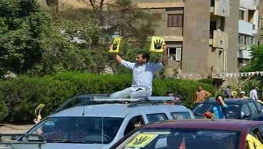 سيد معوض: لم أحمل شعار رابعة