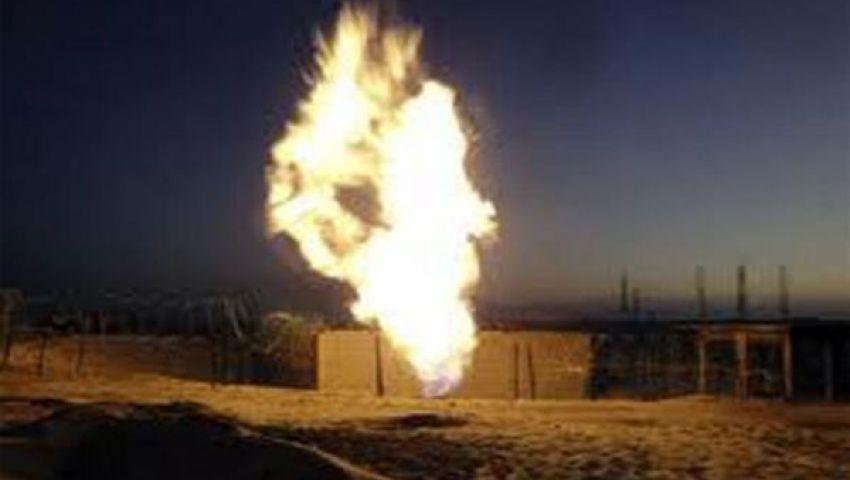 تفجير خط لنقل الغاز بسيناء