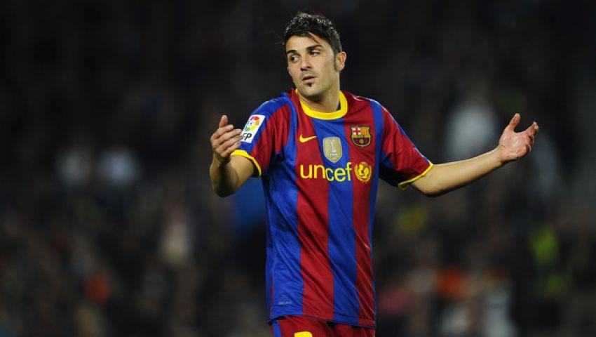 فيا مهاجم برشلونة ينتقل إلى أتلتيكو مدريد رسمياً