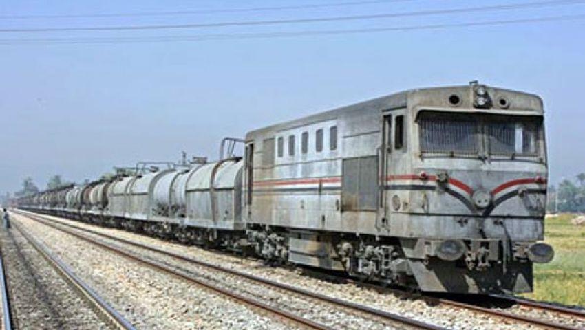 مصرع ثلاثة أطفال أسفل عجلات قطار ببني سويف