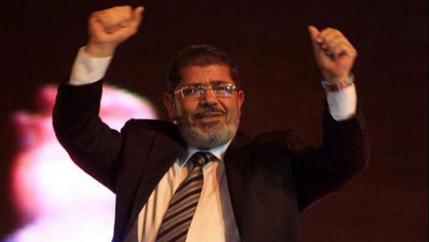 مرسي : بايعتكم علي أن أصون الوطن