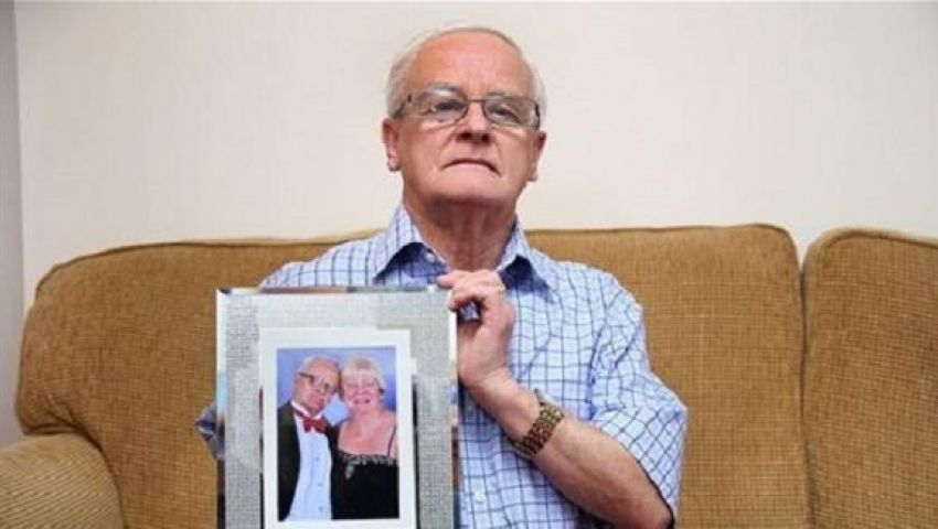 رجل يطارده شبح زوجته بعد وفاتها