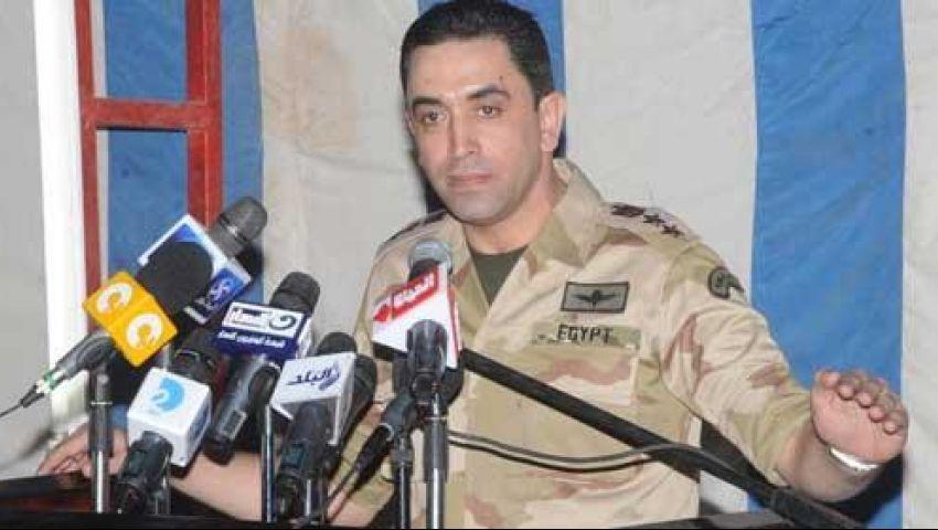 الجيش ينفي تصريحات منسوبة لرئيس الأركان بمهاجمة مؤيدي مرسي