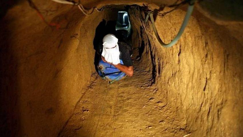 خلال أسبوع.. تدمير 22 نفقًا بشمال سيناء