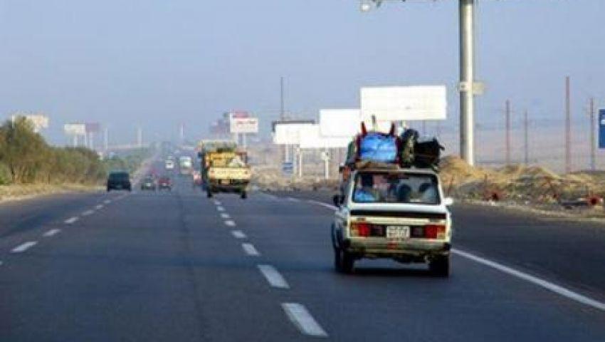 إعادة فتح طريق مطروح ـ الإسكندرية الساحلي