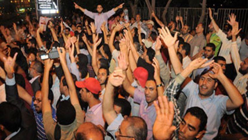 شباب الثورة بقنا يشارك في مليونية حماية الثورة