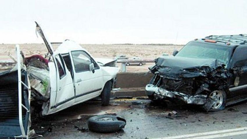 مصرع وإصابة 7 أشخاص في حادث تصادم بطنطا