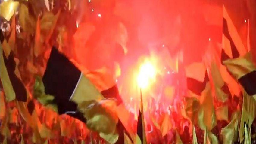فيديو.. جماهير اتحاد جدة على خطى الأولتراس