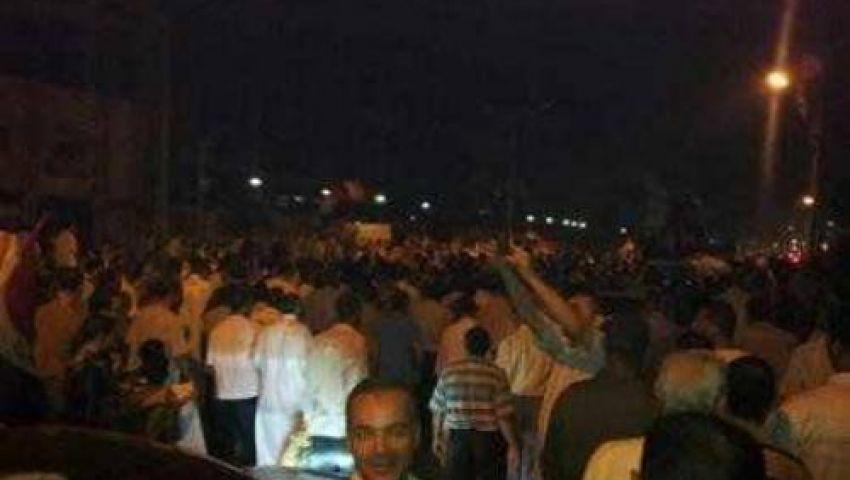 مسيرات ليلية بالفيوم تأييدًا لمرسي