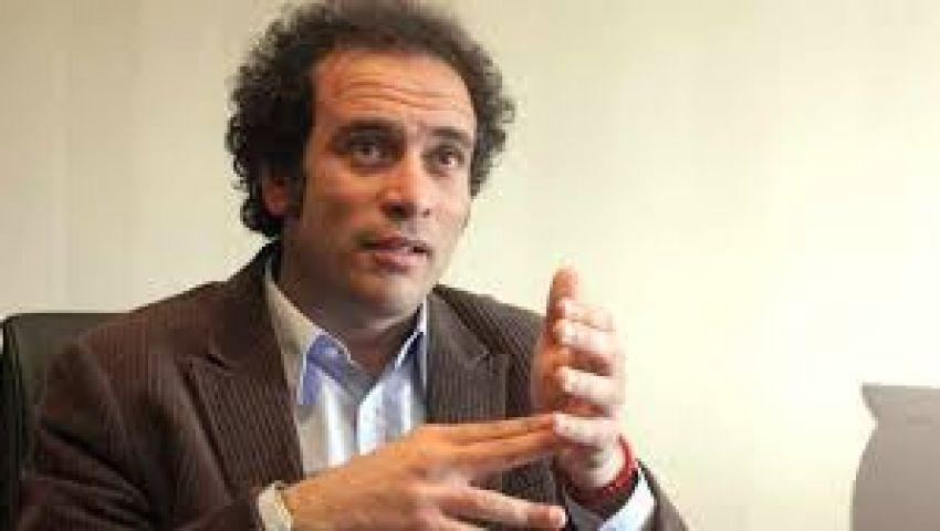 حمزاوي ينفي لقائه بقيادات الإخوان في رابعة العدوية