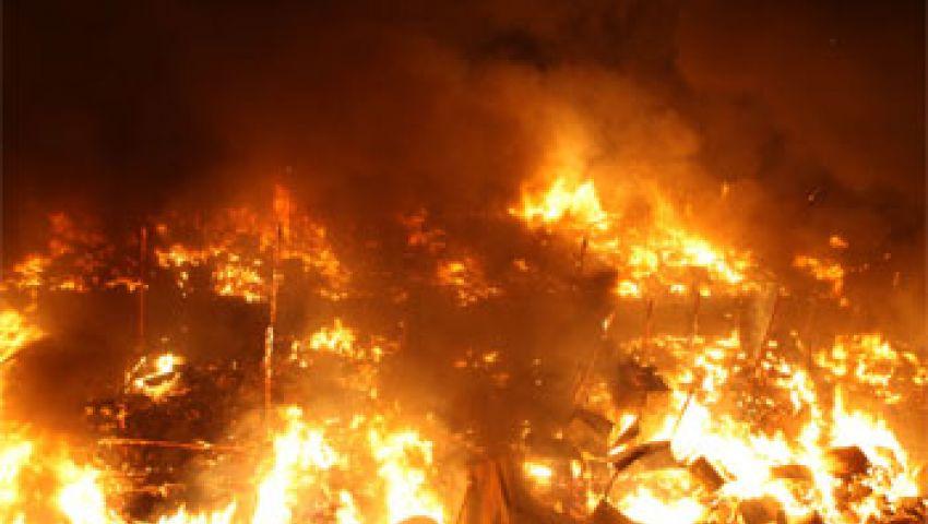 حريق محدود في مستشفى الدعوة الإسلامية ببني سويف