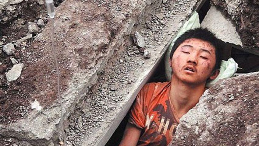 ارتفاع عدد ضحايا زلزال الصين إلى 60 شخصًا