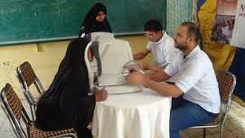 علاج 700 مواطن في يوم حق الإبصار بالإسكندرية