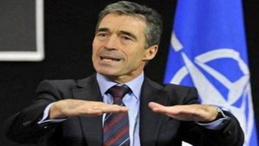 فيديو.. الناتو: لن نقف مكتوفي الأيدي أمام بشار
