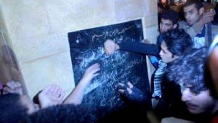 فيديو.. 6 أبريل: أهالي الضحايا وراء تحطيم نصب الشهداء