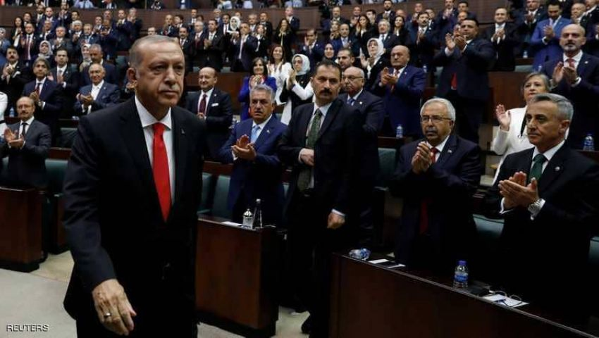 فيديو  بعد أدائه اليمين الدستورية.. أردوغان رئيسًا «بيده كل شئ»