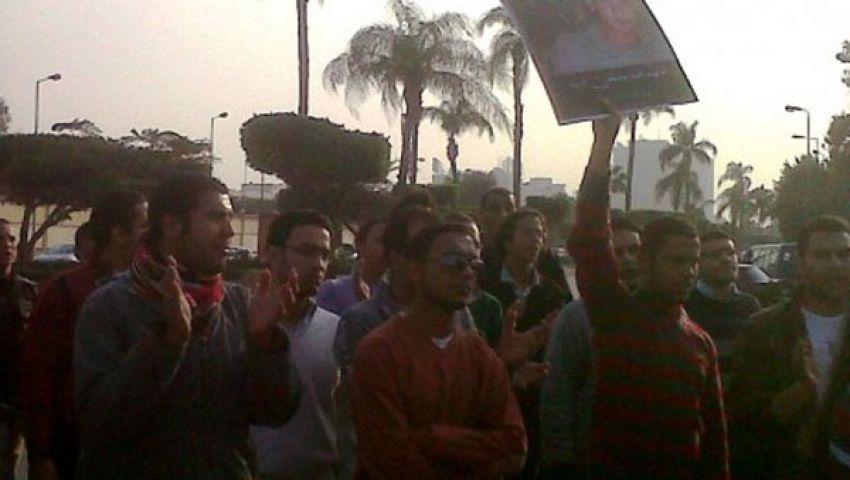 اعتصام أمام الدفاع لإسقاط الرئيس