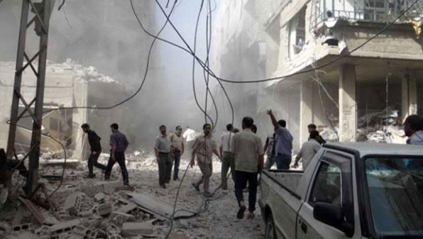 نشطاء: الأسد استخدم قنابل كيميائية في ريف دمشق