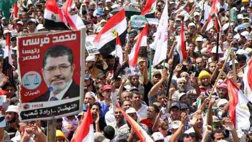مؤيدو مرسي يحاصرون القناة السابعة