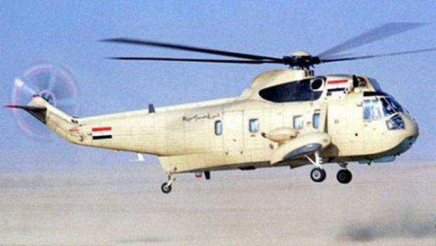 طائرات هيلكوبتر في سماء التحرير