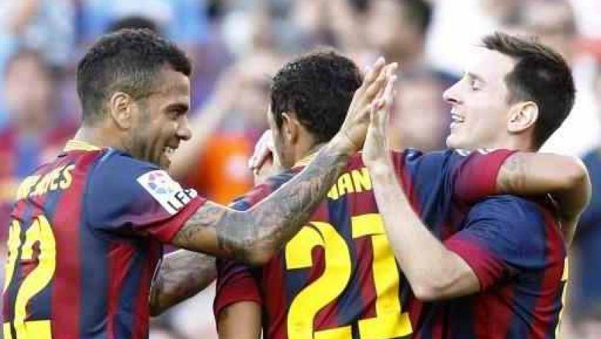 فيديو.. برشلونة يذل ليفانتي بسباعية