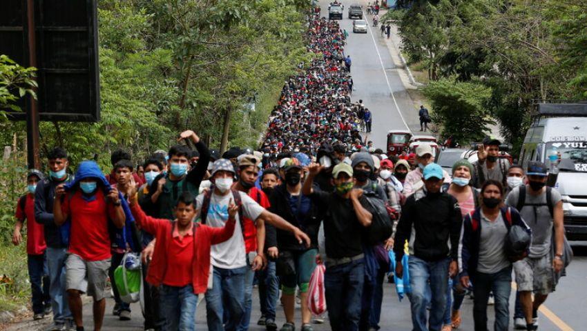 انطلاق آلاف المهاجرين من أمريكا الوسطى إلى الولايات المتحدة