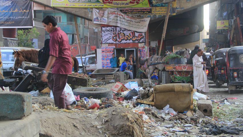 بالفيديو| بأكوام القمامة.. صفط اللبن تستقبل اليوم المصري للبيئة