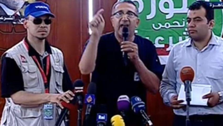 فيديو..المستشفى الميداني: قتلى الحرس الجمهورى قُتلوا من الخلف