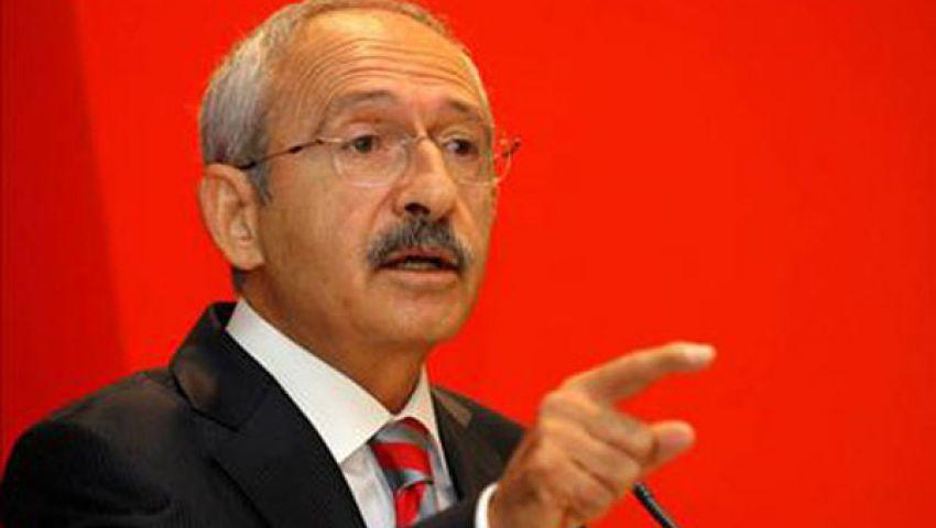زعيم المعارضة التركية: ما حدث ضد مرسي انقلاب عسكري
