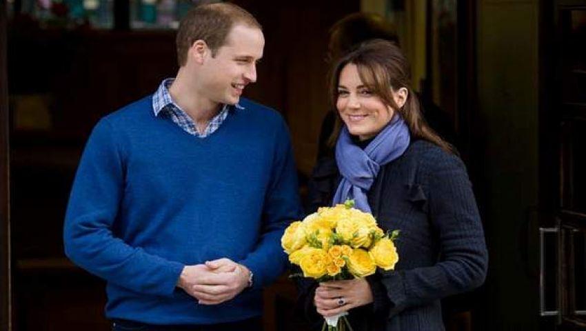 الأميرة كيت تنجب صبيًا وتهدي العرش البريطاني وريثًا