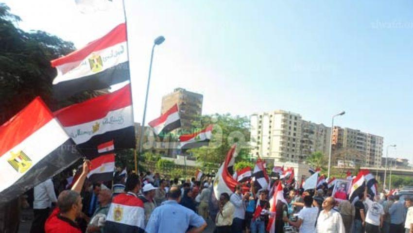 5 آلاف متظاهر أمام الدفاع يطالبون برحيل مرسي