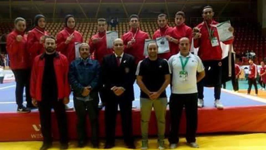 مصر رابعًا في بطولة العالم للشباب للكونغ فو
